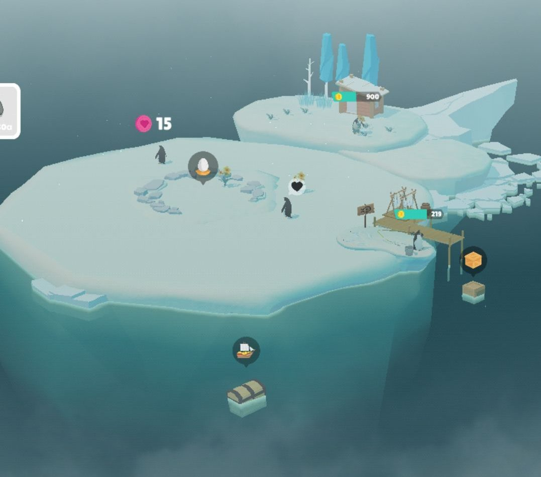 ペンギンの島の基本情報